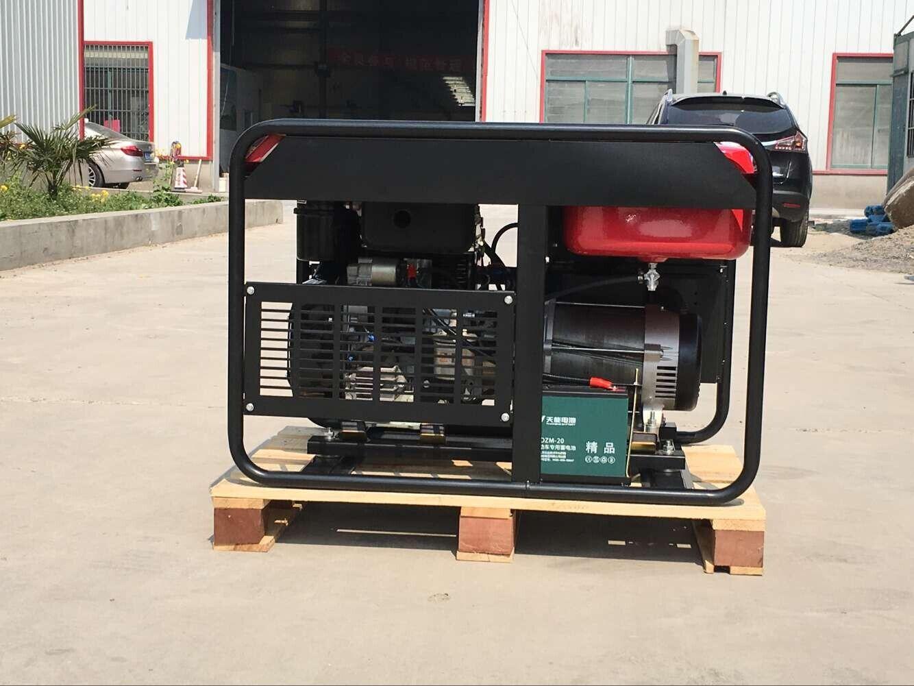 进口隆巴蒂尼400A柴油发电电焊机YT400EW